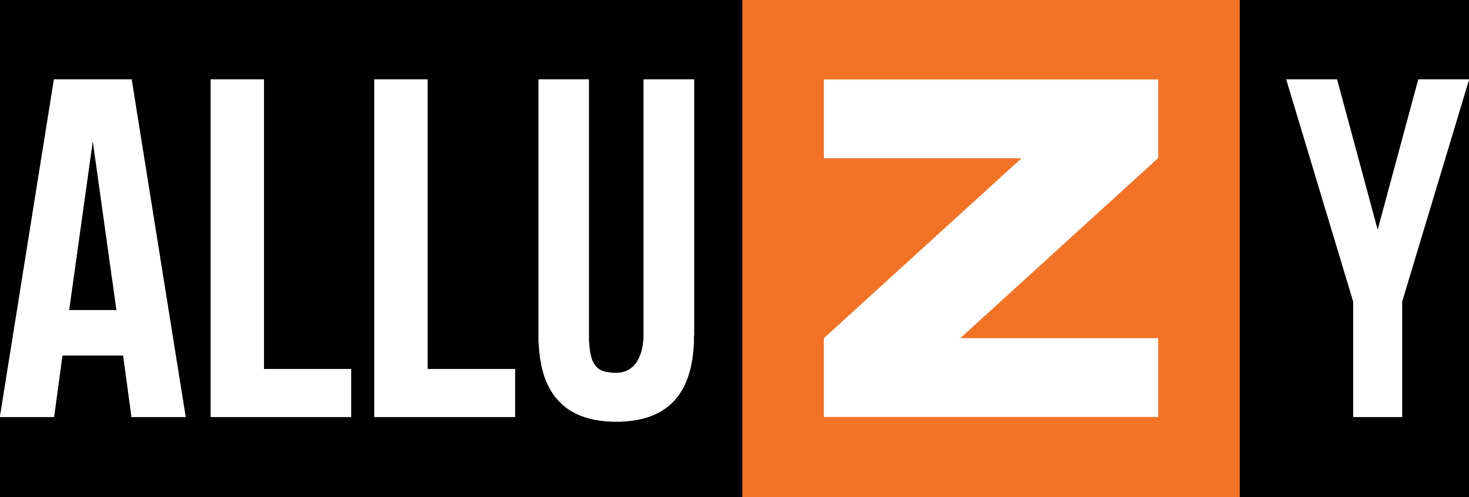 Logo AlluZy - Blanco